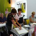 Gerda Mentens aanwijzingen, Masterclass aquarel Nederland, atelier van Vegchel