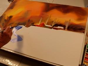 aquarel Frank Francese, masterclass aquarel Holland, atelier van vegchel